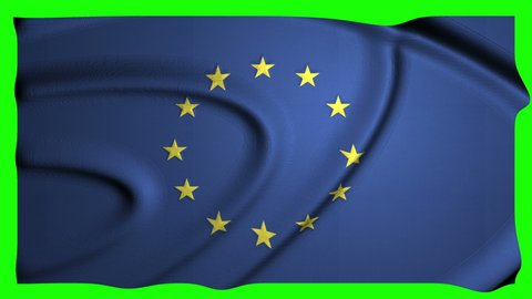 european Animation Flag Animation Green Screen Animation european union Flag union Green Screen union european waving Flag waving Green Screen waving european 4k Flag 4k Green Screen 4k