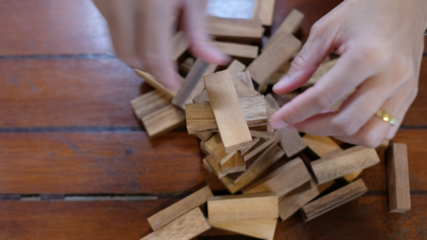 Building Wood Blocks Plan And Stock