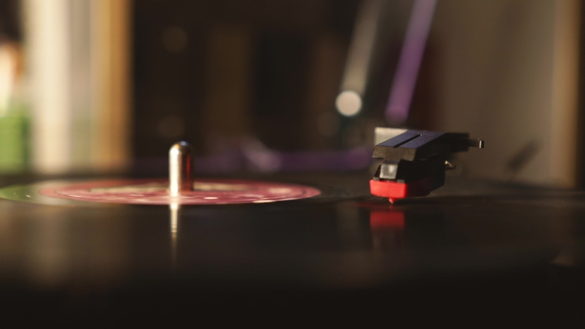 Record Spinning | Free HD Stock Video Footage | Videezy com