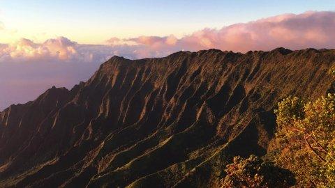 Na Pali Coast State Wilderness Park Kauai Hawaii Pacific Ocean Hawaiian Island Paradise On Earth Ke E Beach Polihale State Park Kalalau Valley North America United States Of America Tourism