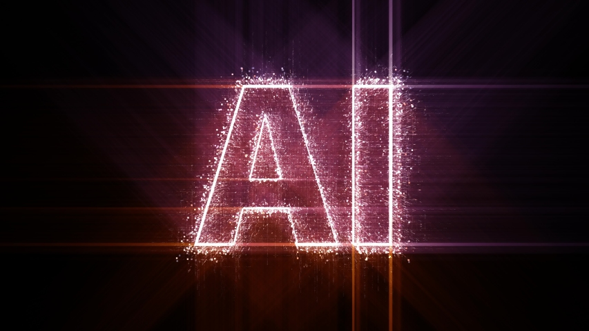 4k AI animated word artificial intelligence tag cloud,text design animation.The Matrix style binary computer code shaped text design animation,changing from zero to one digits,abstract future tech bac | Shutterstock HD Video #1037458466