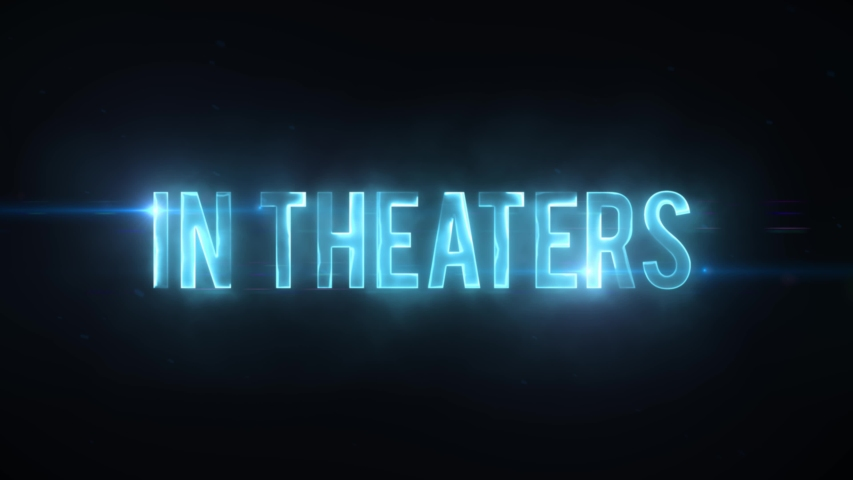 Scifi Movie Trailer Coming Soon Text Reveal/ 4k scifi movie style background with coming soon lighting text reveal like for cinema trailer | Shutterstock HD Video #1038547466