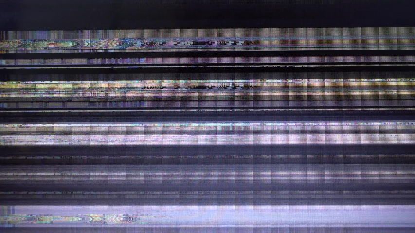 Bad television signal. Breakage of the monitor. | Shutterstock HD Video #1038593576
