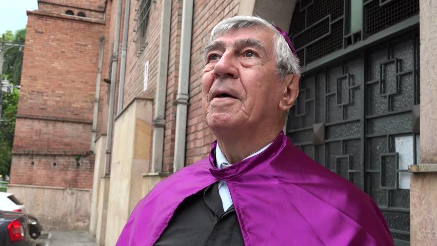 Priest Speaking to God