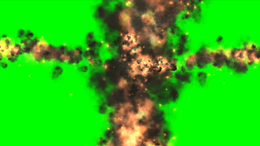 Explosion, Fragments, Fire, Black Smoke Stock Footage Video (100%  Royalty-free) 10398446 | Shutterstock