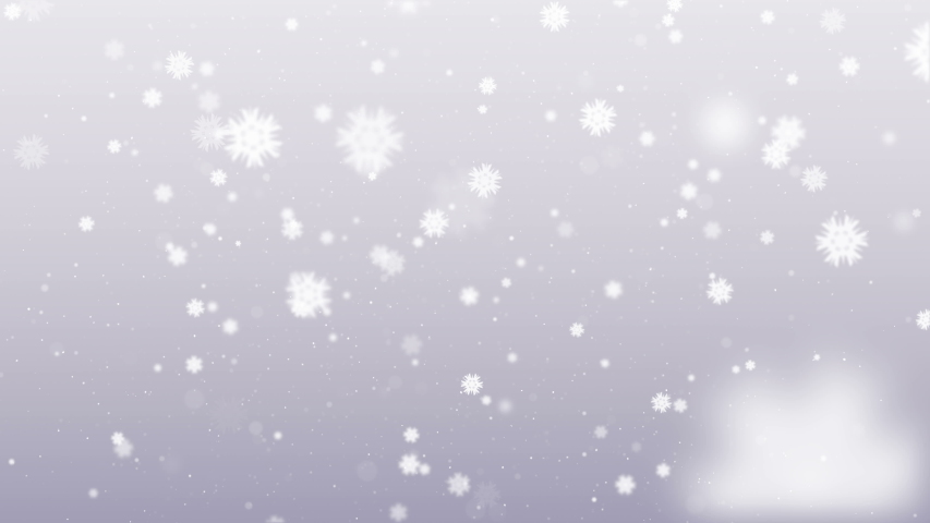 4k. Snowflakes background. Falling snow flakes. Merry Christmas. 2020 New year. Animation. 3840x2160 | Shutterstock HD Video #1039925096