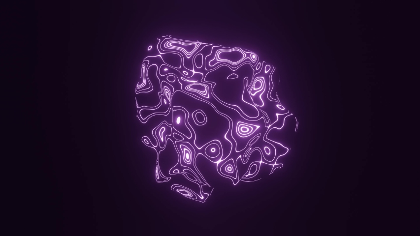 3d render, glowing loop, abstract animation, intro, esoteric energy | Shutterstock HD Video #1040330696