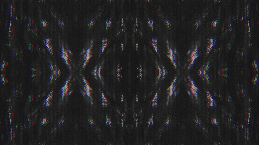 Abstract Symmetry and Reflection Digital Pixel Noise Glitch Background   Shutterstock HD Video #1040983556