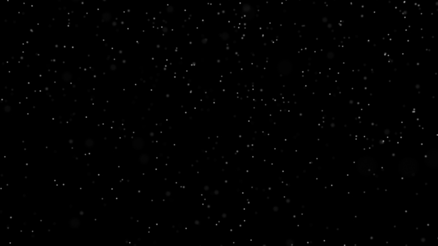 Winter Snow. Falling snow on a black background in 4K. Christmas animation background. | Shutterstock HD Video #1041124096