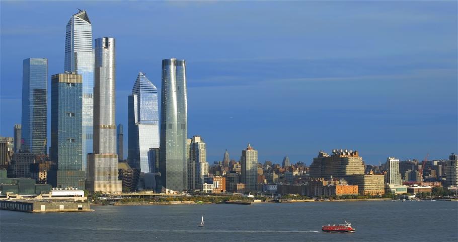 Skyline, midtown Manhattan, New York City | Shutterstock HD Video #1042252006