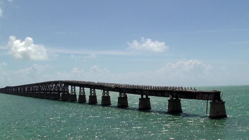 Destroyed Bridge Sections Of The Stock Footage Video 100 Royalty Free 10430306 Shutterstock