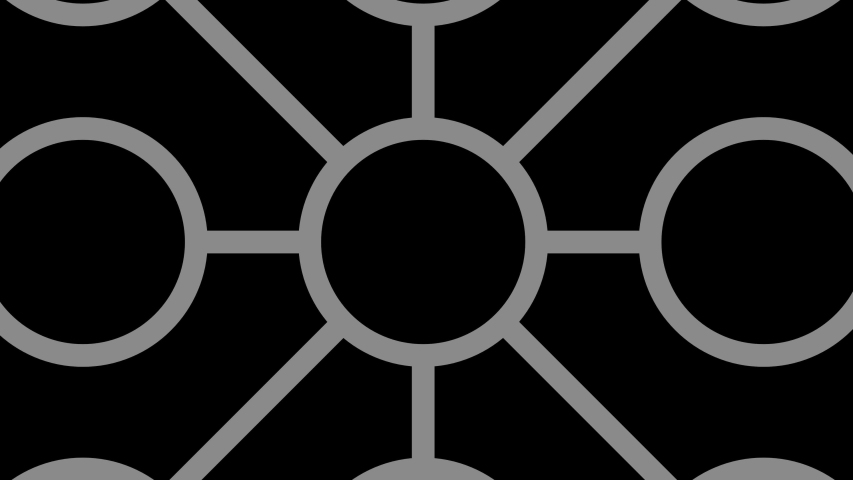 Graphic object in black and white with stroboscopic and hypnotic effect, which rotates clockwise decreasing the size from full screen to disappearing in the center.t | Shutterstock HD Video #1044654256
