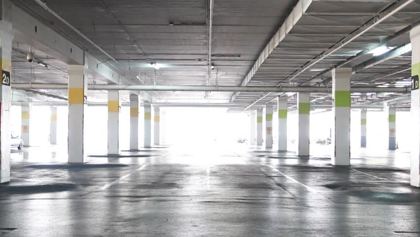 Parking Lot Stock Footage Video 10452290 Shutterstock