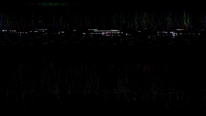 Glitch TV Static Noise Distorted Signal Problems | Shutterstock HD Video #1046716486