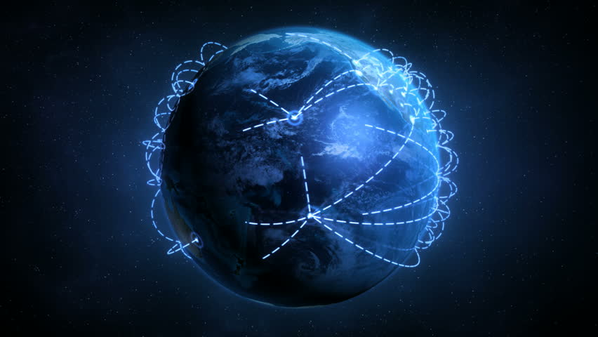 Growing Global Network - Preview is darker than actual - Check portfolio for variations. | Shutterstock HD Video #1056196