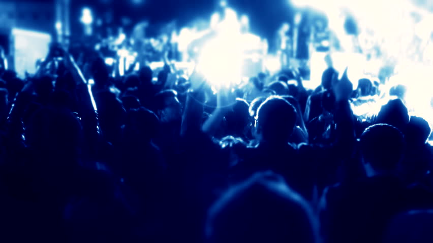 Crowd singing artist cheering, rock music, pop music, slow music, rap music scene shows Concert crowd applause concert stage and concert hall,Night rock concert, People cheer move lift clap their hand | Shutterstock HD Video #10574876