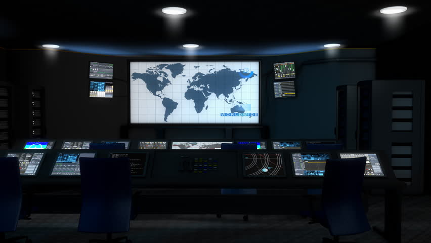 Center, command, control, room, security, aviation, space