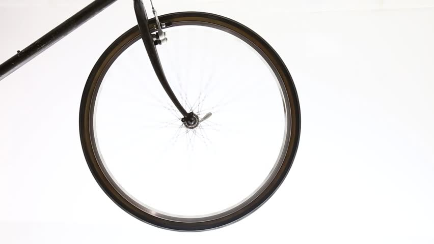 Bicycle wheel isolated with transmission gears #10647941