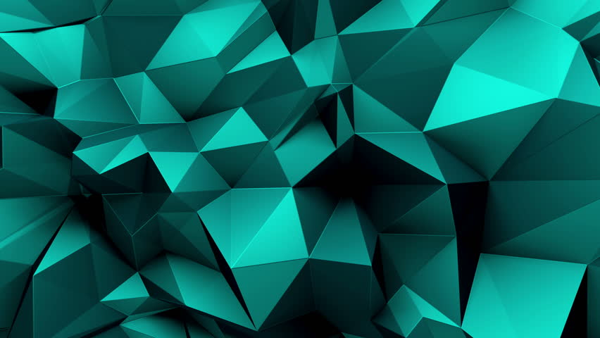 3d abstract geometric background with sharp spikes with shadows | Shutterstock HD Video #10747766