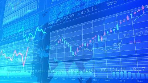 Financial Business Graph.