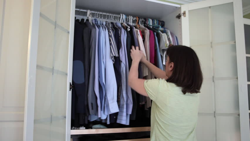 Woman Choosing Clothes, Closet, Fashion, Stock Footage Video (100%  Royalty Free) 10770176 | Shutterstock