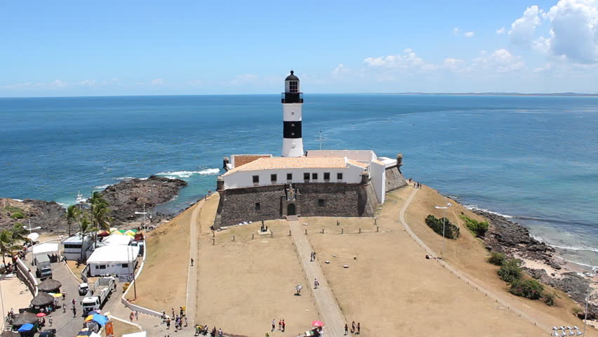 Salvador de Bahia - barra lighthouse