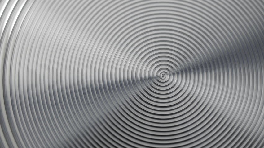 Stock Video Of Blurred Metal Spiral Spiral Texture On