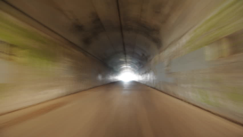 Six Trips Through Tunnel time lapse