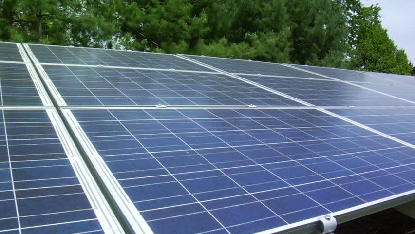 Solar Panels. Alternative Energy.