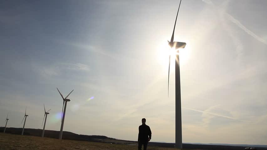 Wind Turbines. Clean Energy.