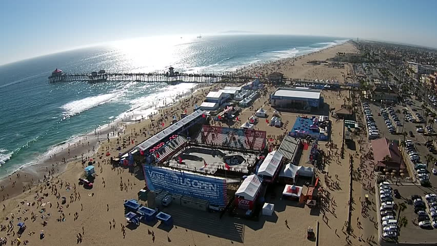 Huntington Beach Surfing Contest The Best Beaches In World