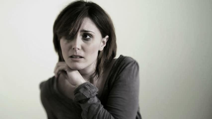 Victim of Abuse/Violence; HD Photo JPEG