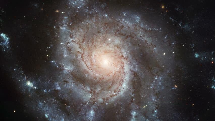 Rotating galaxy