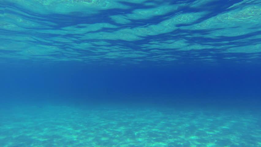 Seamless Looping Of A Greenish Underwater Texture Stockvideos
