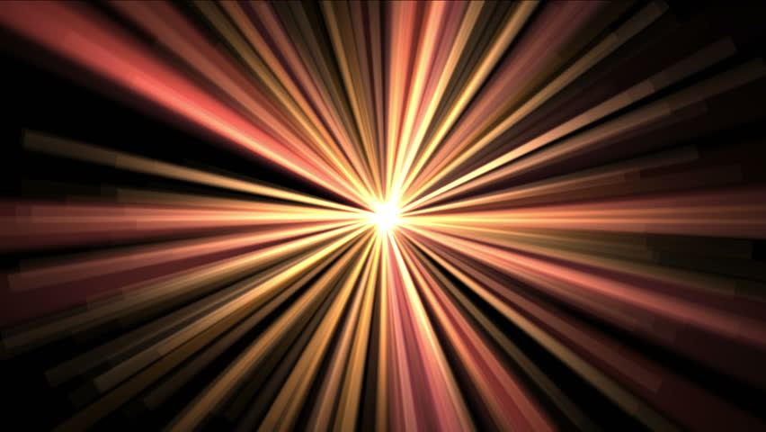 4k Abstract gold rays hope light background,flare star sunlight,radiation ray laser energy,tunnel passage lines backdrop. 1216_4k