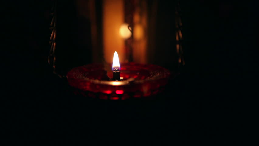 Lighting A Dark Room candle in a dark room light a candle and then extinguish, dark