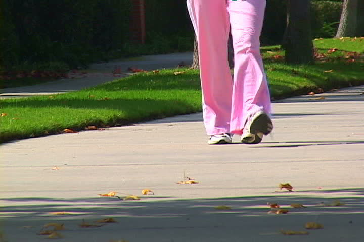 Woman speed walking | Shutterstock HD Video #1101316