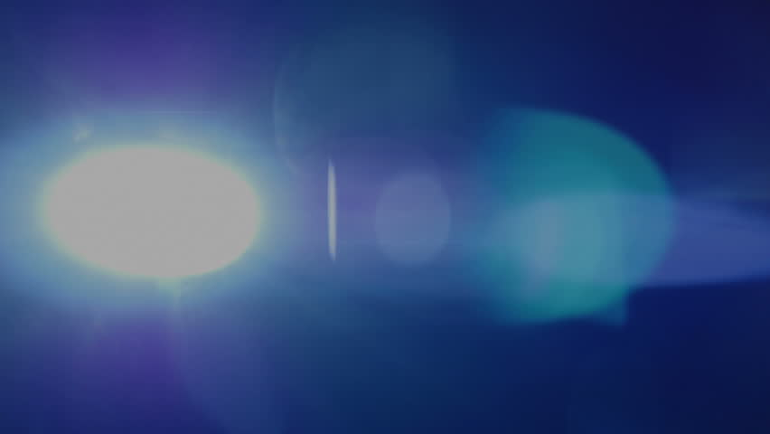 Real anamorphic lens flare.