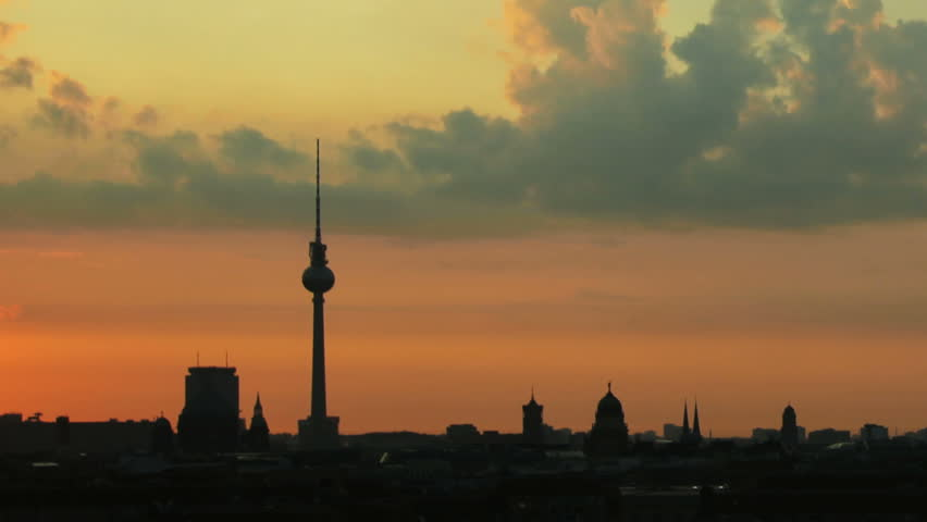 Sunrise in Berlin Timelapse