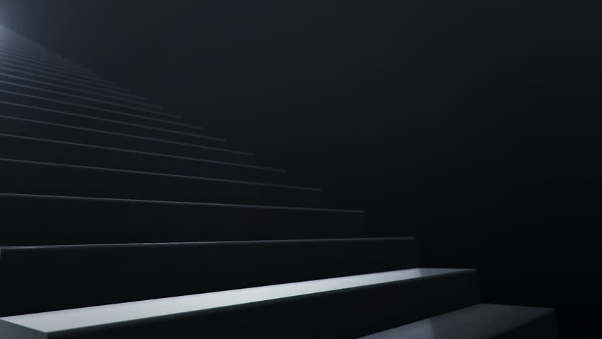 Seamless loop animation of slow motion on staircase. | Shutterstock HD Video #11131226