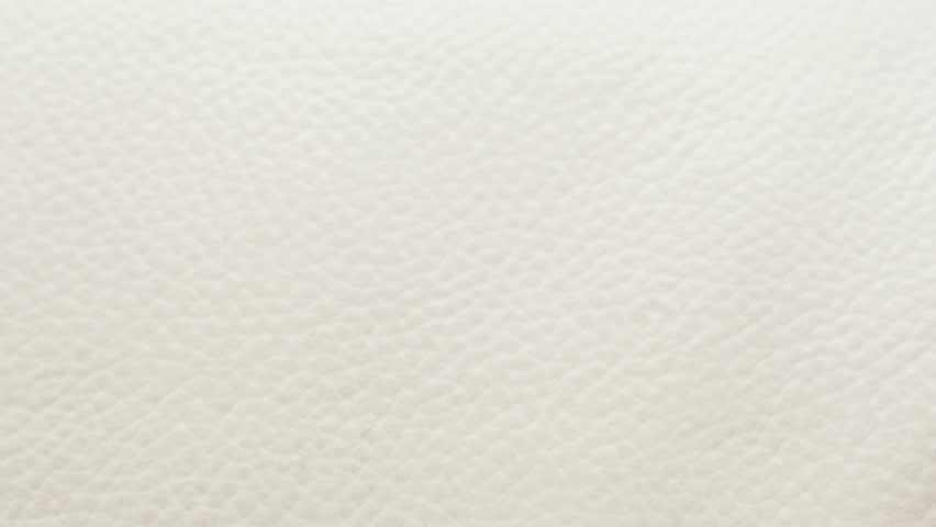 Leather White Sofa Close-up Texture Stock Footage Video (100 ...