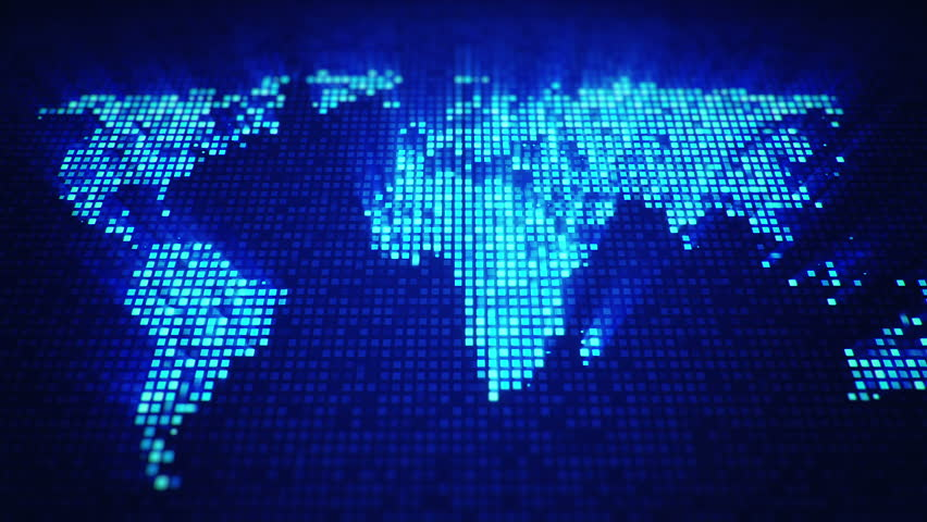World map black background stock footage video 5122988 shutterstock animation of flicker and slow motion particles in digital world map abstract background of technology gumiabroncs Image collections