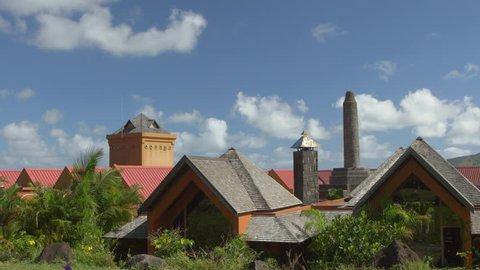 WS View of Rhumerie De Chamarel distillery in Chamarel, Mauritius