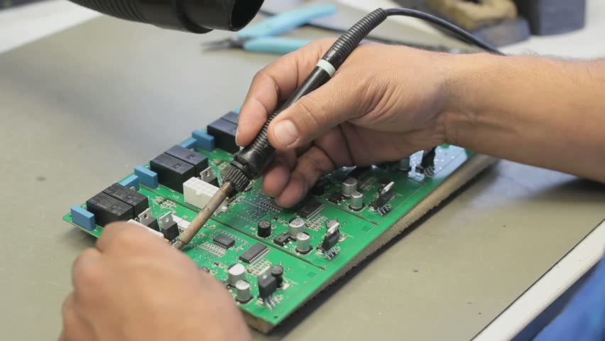 How To Remove The Silicone In The Circuit Board Electronics Repair