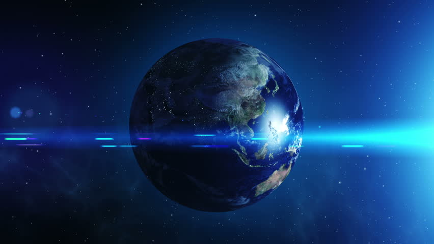 From day to night, spinning Earth | Shutterstock HD Video #11572502