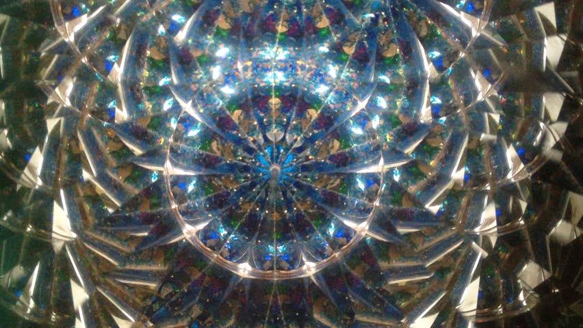 Real kaleidoscope background (no digital effect)