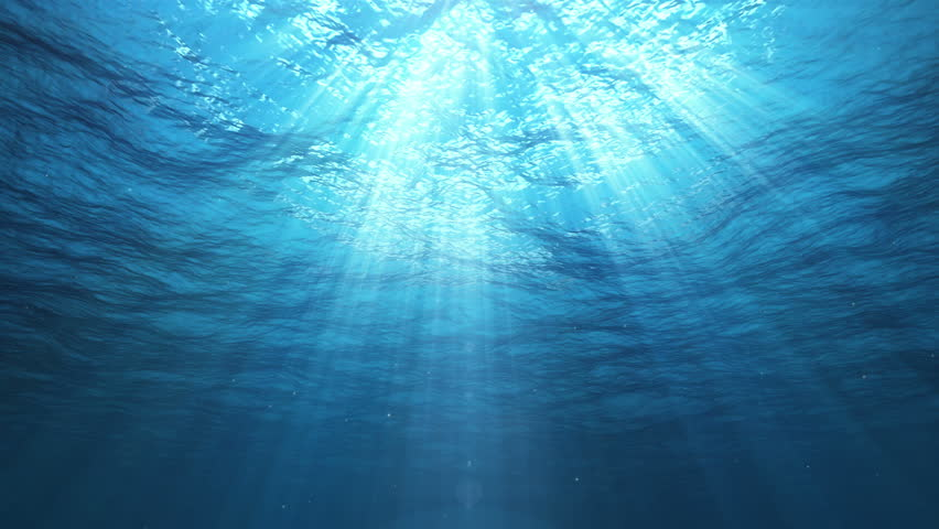 Underwater Sun Rays in the Ocean (Loop) | Shutterstock HD Video #11752748