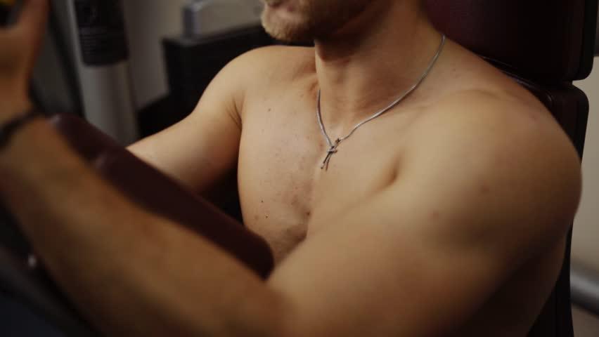 Perfect male torso development