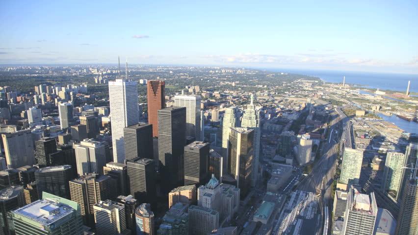 Toronto Skyline Timelapse #1181296