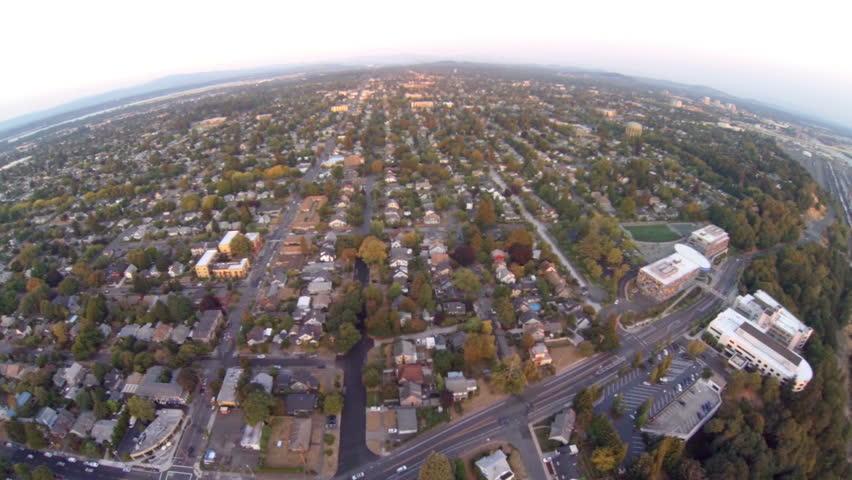 Aerial video in Portland, Oregon.   Shutterstock HD Video #11863286